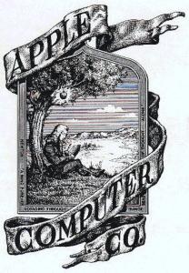 Newton onder de appelboom